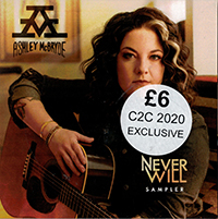 Signed Albums CD - Signed Ashley McBryde - Never Will Sampler NOT SIGNED