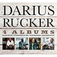 Signed Albums CD - Signed Darius Rucker - 4 Albums (Learn to Live, Charleston,SC 1966, True Believers, Southern Style)