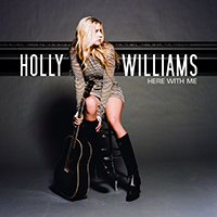 Signed Albums CD - Signed Holly Williams - Here With Me