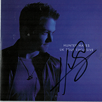 Signed Albums CD - Signed Hunter Hayes - UK Tour Exclusive