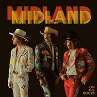 Signed Albums Cd - Signed Midland - On The Rocks