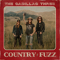 Signed Albums CD - Signed The Cadillac Three - Country .Fuzz